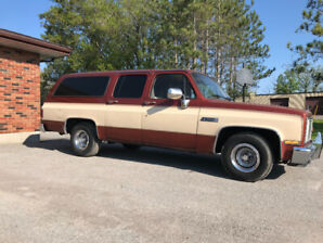 1986 GMC SUBURBAN 2WD - ORIGINAL - 2 OWNER