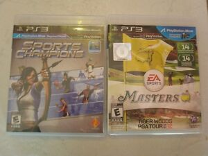 2 jeux de PS3/Golf et Sports Champion