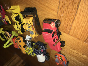 Matchbox construction vehicles and equipment