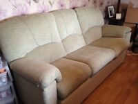 Large three seater sofa