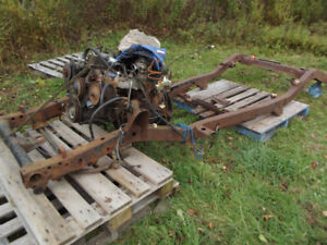1988 jeep frame with 4L engine