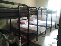 Shared Dorm Style Rooms Gastown Vancouver