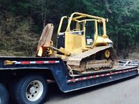 Excavators and Bull Dozers For Hire, with operator