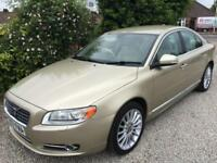 **VOLVO S80 2.4i ( 185bhp ) GEARTRONIC D5 EXCLUSIVE IN GOLD METALIC**