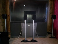 5 Energy Encore  speakers and stands