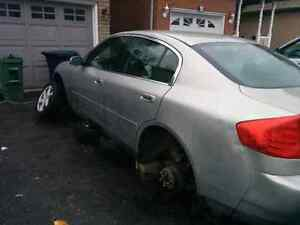 2004 Infiniti G35x Sedan PARTS ONLY FOR SALE