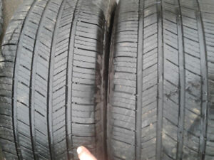 TWO michelin defenders 225/55r17  TRURO
