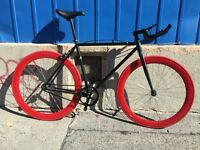 Fixie Fixed Gear Bike Velo Bicyclette Track Single Speed