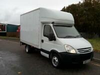 "IVECO DAILY 35C12 LUTON/TAILLIFT TWIN REAR AXLE 2007 ""57"" REG 130,000 MILES 3.5T"