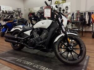 2017 Victory Motorcycles Octane Suede Pearl White
