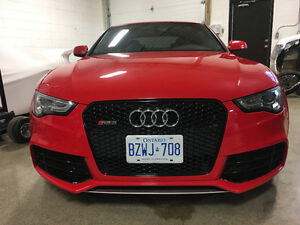 2013 Audi RS5 Coupe (2 door) low KM, no accidents.