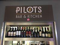 Pilots by Rhubarb London city airport waiter/waitress