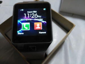 NEW SMART WATCH WORKS WITH ALL CELL PHONES