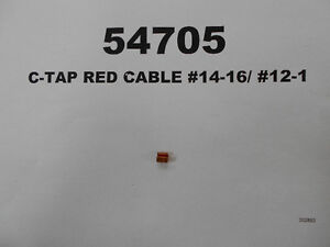 54705 - C-TAP RED CABLE #14-16/ #12-14