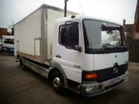 mercedes atego, ideal showmans lorry