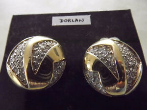 LOT DE BOUCLES D'OREILLE VINTAGE EARRINGS
