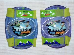 Kneepads for child .. from Disney Toy Story .. Buzz & Woody