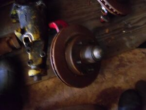 DISK BRAKE SET UP FOR 1955 TO 57 CHEV BELAIR