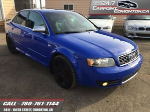 2004 Audi S4 AMAZING VEHICLE...RARE ...VERY FAST 350HP...V8..4.2
