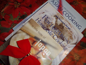 SET OF THREE COOKBOOKS GREAT FOR CHRISTMAS GIFT