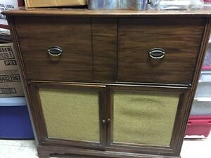 Stereo cabinet, antique