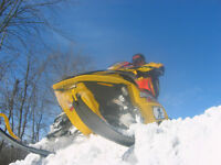 Skidoo Parts (large variety of models) Also buy sleds and parts