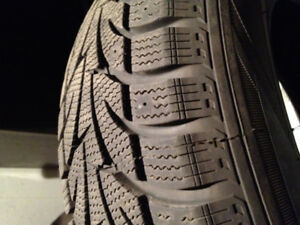 WINTER TIRES 4 EXCELLENT CONDITION