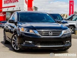 2015 Honda Accord SPORT - NO ACCIDENTS|1OWNER|SUNROOF|REMOTE STA