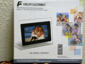 Fidelity digital picture frame