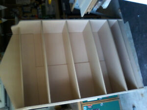 Wood Display Shelving unit