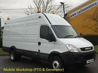2009/59 Iveco Daily 65c17 Ex Lwb [Compressor+Generator PTO] Mobile Workshop 6.5t