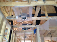New construction wiring electricians Windsor -Essex 226-783-4016
