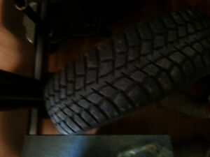 Marshall winter tires on rims for sale