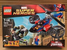 LEGO 76016 SPIDER-MAN HELICOPTER RESCUE BNIB