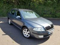 SKODA OCTAVIA 1.9 TDI DIESEL MANUAL GREY 5 DOOR ESTATE 2005
