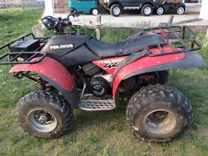 2 Polaris trail boss 250 4x4 $800 firm for pair