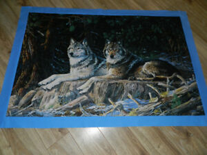 FOR SALE WOLF WALL HANGINGS -- I AM TAKING ORDERS FOR THIS ONE