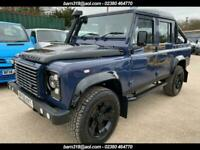 LAND ROVER DEFENDER 110 TDCi DOUBLE CAB, FULL LEATHER, AC, HEAT SCRN SEATS, 41K