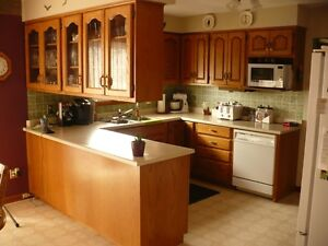 Oak Kitchen Cabinets For Sale.