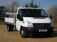 Ford Transit 350 DRW DROPSIDE13.8FT BEDNOVAT TO PAY