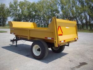 4 ton off road Farm/Construction Dump trailer London Ontario image 1
