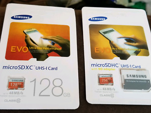 Samsung micro SD cards