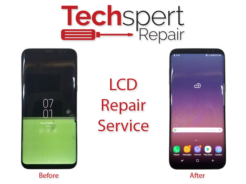 Iphone 8 Cracked Glass And Lcd Broken Screen Repair Service