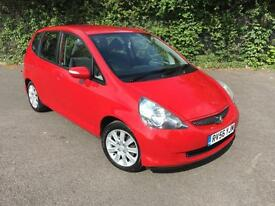HONDA JAZZ 1.4 DSI RED 5 DOOR HATCHBACK PETROL MANUAL 2006