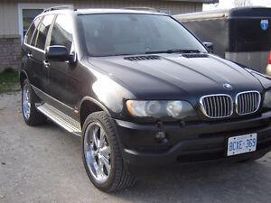 2002 BMW X5 SUV, Crossover