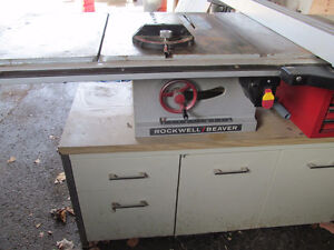 Rockwell Beaver Table Saw Older Model/Router