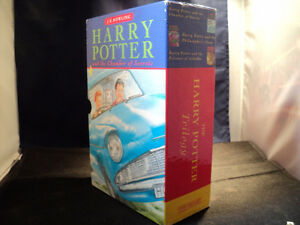 Harry Potter Box Set Complete Set Of 3 Hardback Ted Smart Pres