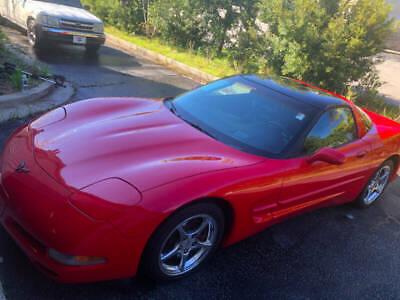 2004 Red Chevrolet Corvette Coupe  | C5 Corvette Photo 1