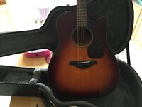 Yamaha fgx700sc with case. **NEW**