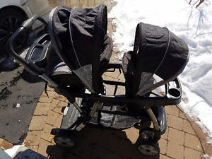 Poussette double Ready2grow Graco Viceroy, double stroller